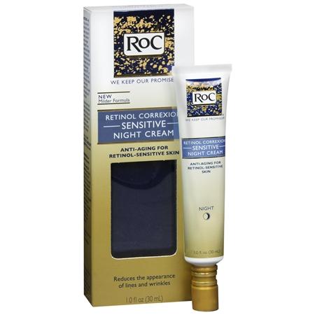 Roc Retinol Correxion Sensitive Night Cream Shespeaks