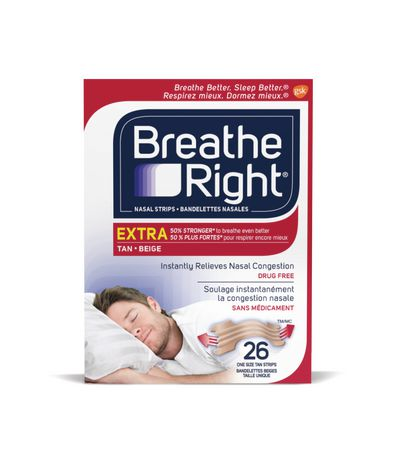 Breathe Right Nasal Stri…