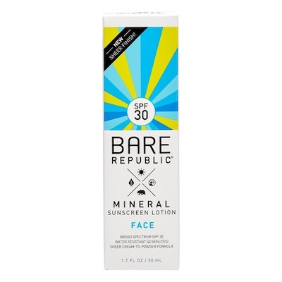 Mineral Face Sunscreen …