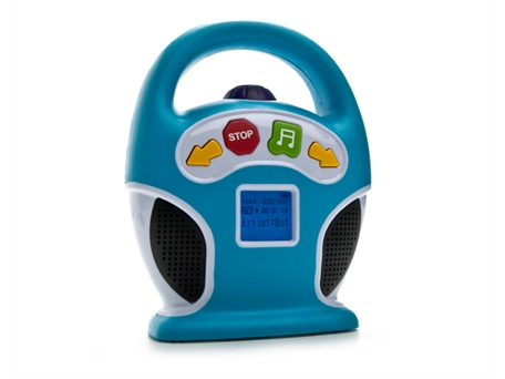 Blue Hat Toy Company Little Tunes Mp3 Player Shespeaks
