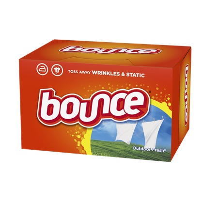 Bounce  Dryer Sheets Out…
