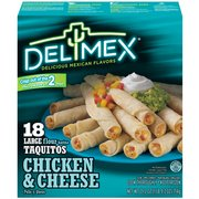 Delimex Chicken & Cheese Taquitos