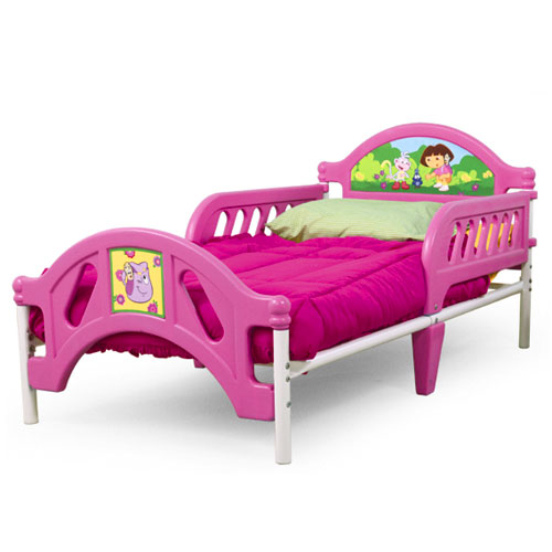 Delta Dora The Explorer Toddler Bed Shespeaks