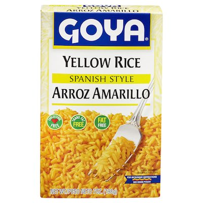 Yellow Rice Spanish Sty…