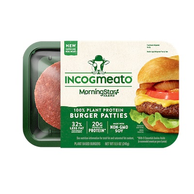 Incogmeato Burger Patties