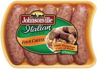 Johnsonville Four Cheese Italian Sausage