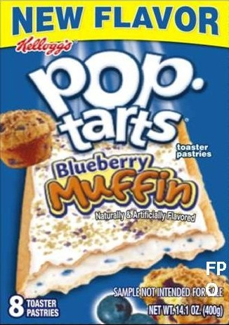 Pop-Tarts Blueberry Muf…