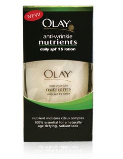 Olay Anti-Wrinkle Nutrients Daily SPF 15 Lotion