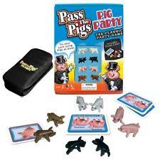Pass the Pigs Pig Party