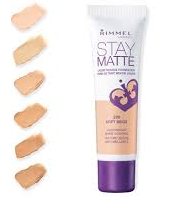 Stay-matte mousse found…
