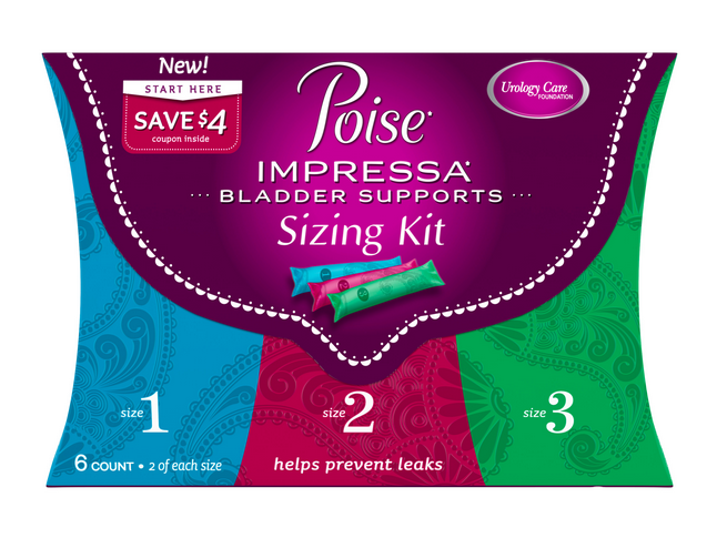 Poise Impressa Sizing Kit