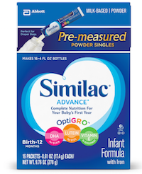 Advance Infant Formula …