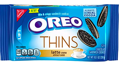 Oreo Latte Cookie Thins