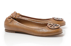 Tory Burch Tumbled Leather Reva