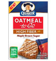 Quaker Oatmeal to Go