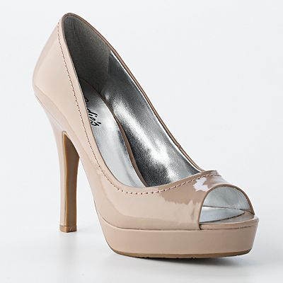 Candie's Peep Toe Pumps …