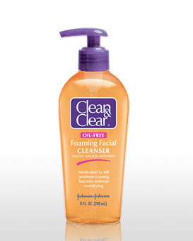 Clean and Clear Foaming …