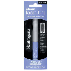 neutrogena clean lash tint shespeaks. Black Bedroom Furniture Sets. Home Design Ideas