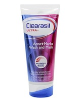 Clearasil  Ultra Acne+Marks Facial Wash and Mask