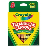 Crayola Triangular Crayo…