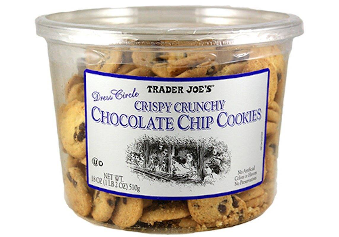 Trader Joe's Dress Circle Crispy Crunchy Chocolate Chip Cookies