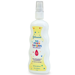 Johnson's No More Tangles Spray Detangler