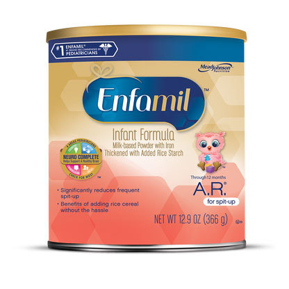 Enfamil A.R. Milk Based Formula for Spit Up