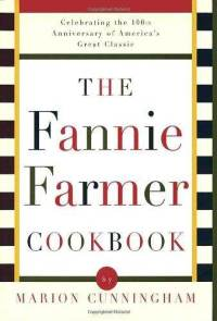 Marion Cunningham Fannie Farmer Cookbook