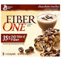 General Mills Fiber One Bars Chocolate Mocha