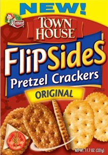 Keebler Townhouse Flipside Pretzel Crackers Shespeaks