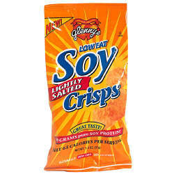 Low Fat Soy Crisps