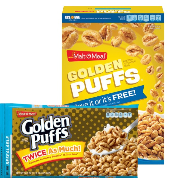 Malt O Meal Golden Puffs