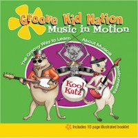 Groove Kid Nation Music In Motion Kid's Song's CD