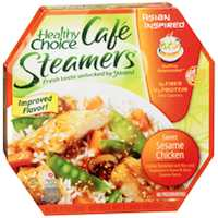 Healthy Choice Cafe Steamers Sweet Sesame Chicken