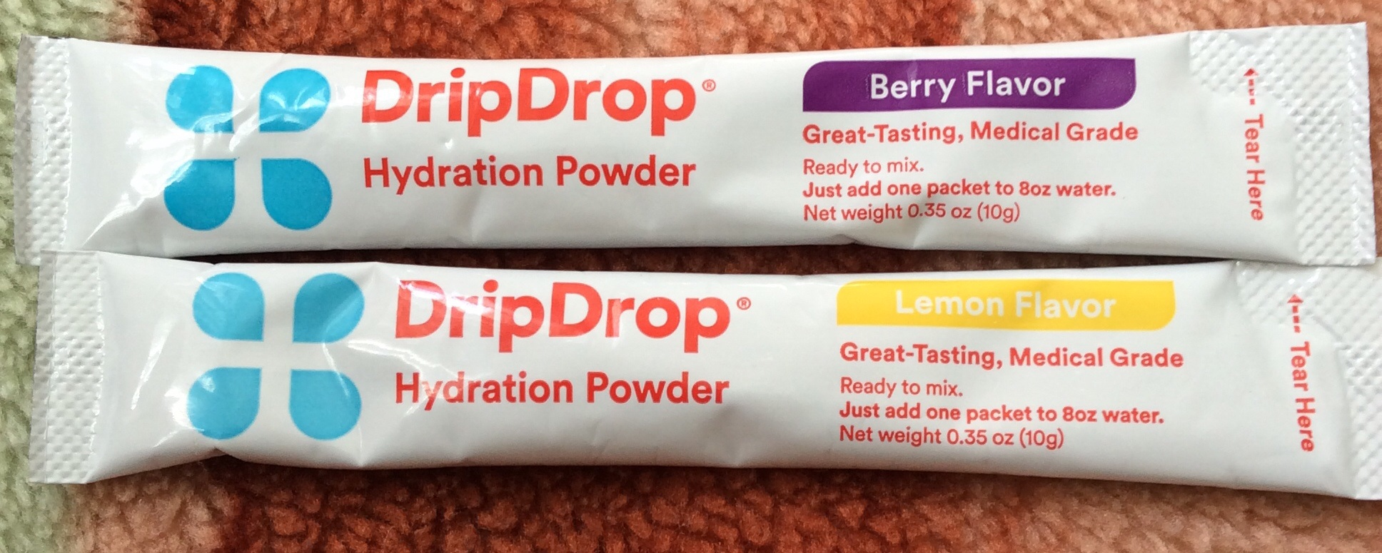 Drip drop hydration pack…