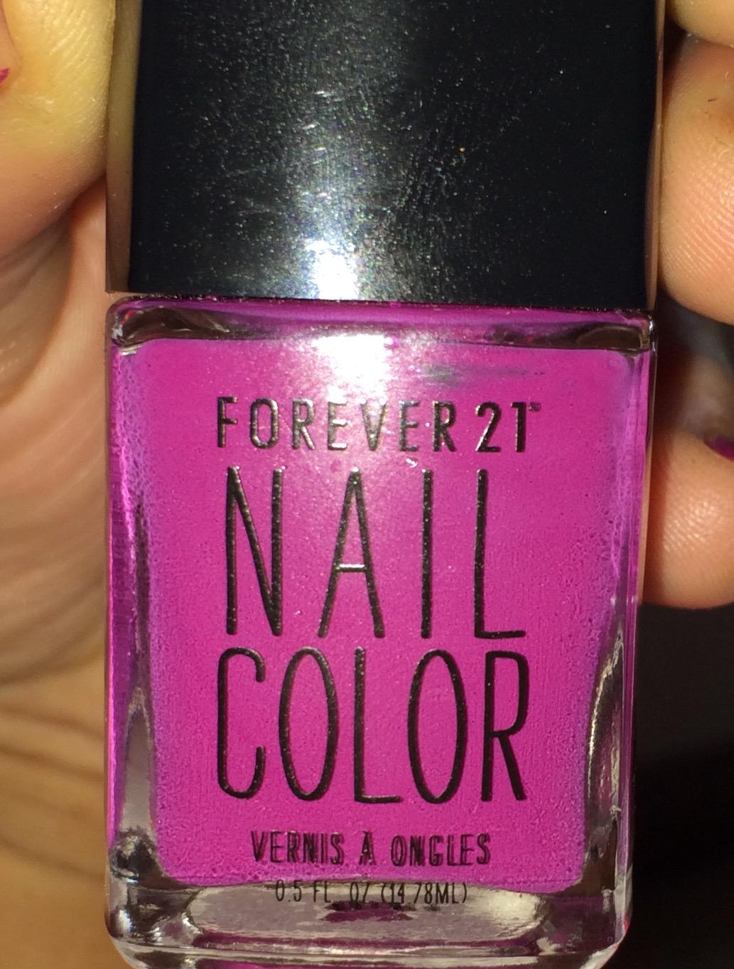 Forever 21 Nail Color Fuschia | SheSpeaks