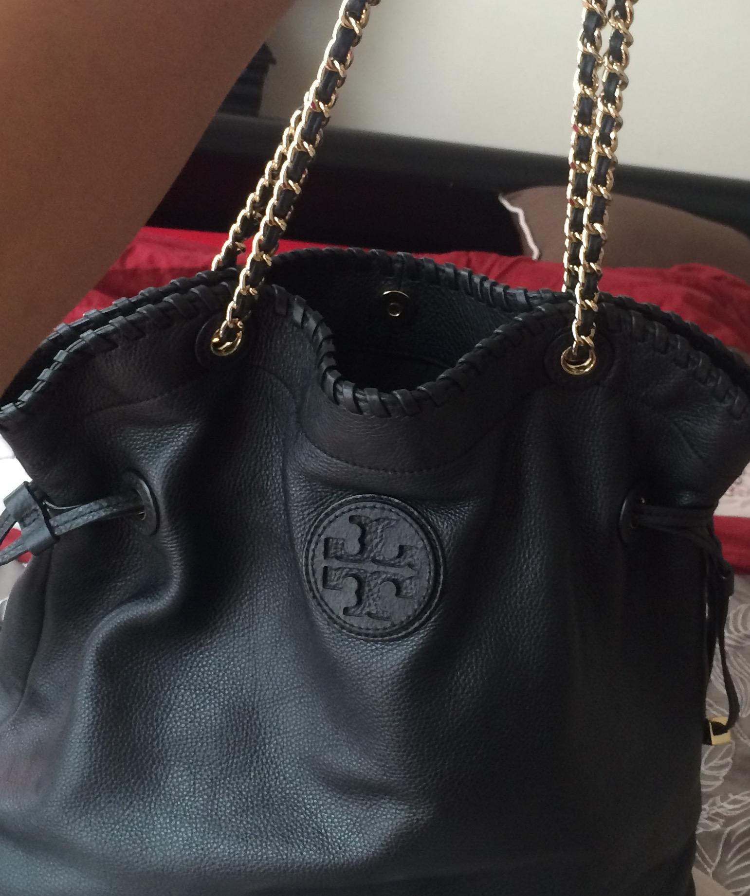 a25228b5754 Tory Burch Slouchy Marion Handbag