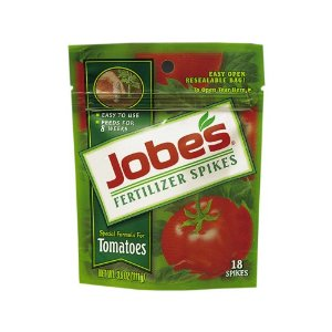 Jobe's Tomato Outdoor Fertilizer Food Spikes