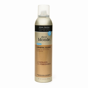 Sheer Blonde Crystal Cl…