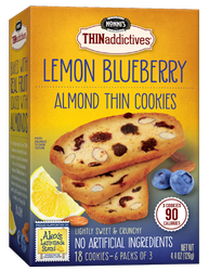 Nonni's THINaddictives Lemon Blueberry