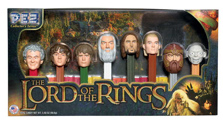 Lord of the Rings Pez Collector Set