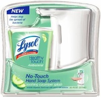 Lysol Healthy Touch No-Touch Hand Soap System