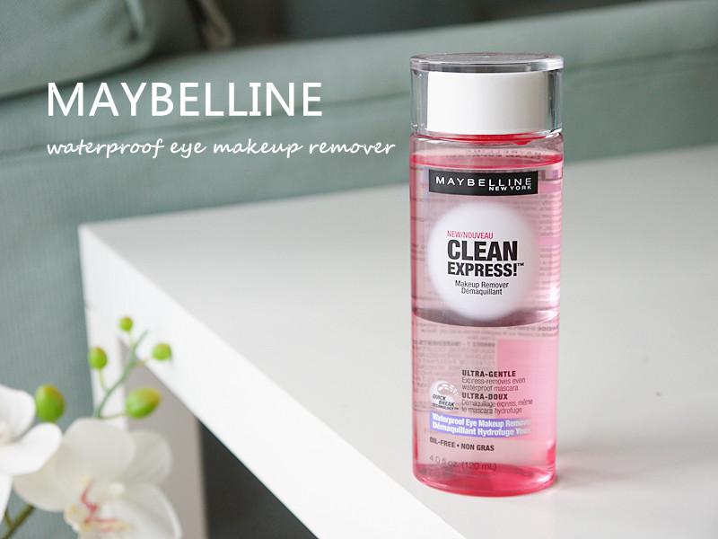 Maybelline Clean Express Waterproof Eye Makeup Remover Shespeaks