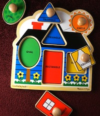 Melissa and Doug Wooden Puzzle