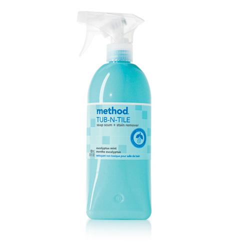 Method tub tile bathroom cleaner shespeaks for Bathroom tile cleaner products