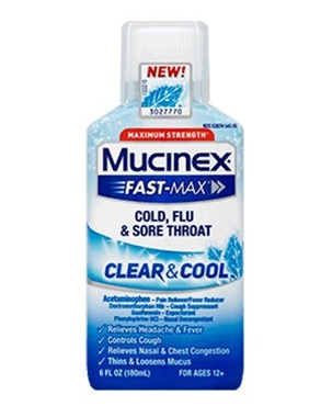 Mucinex Clear & Cool