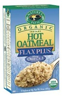 Nature's Path Organic Instant Hot Oatmeal Flax Plus
