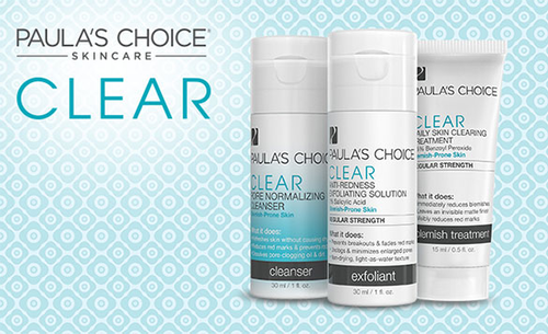Clear Anti-Acne System …