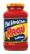 Ragu Old World Style Tra…