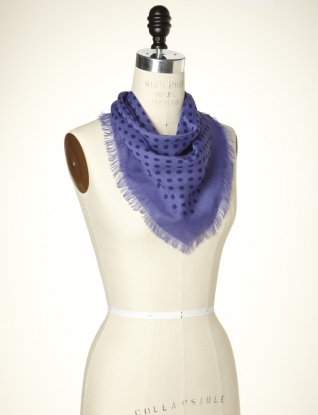 Dotty Small Square Scarf